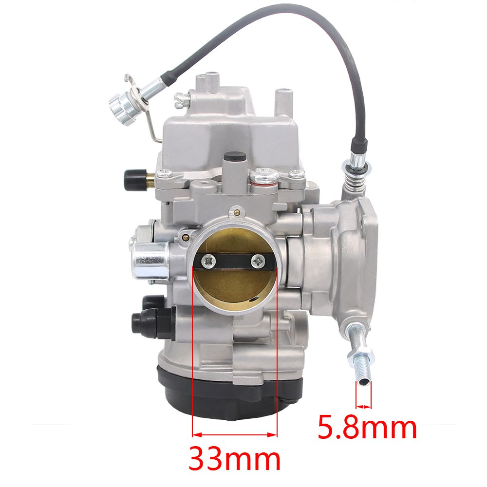 Carburetor for Yamaha Kodiak 400 YFM 400 YFM400 2000 2001 2002 2003 2004  2005 2006 ATV (Kodiak 400)
