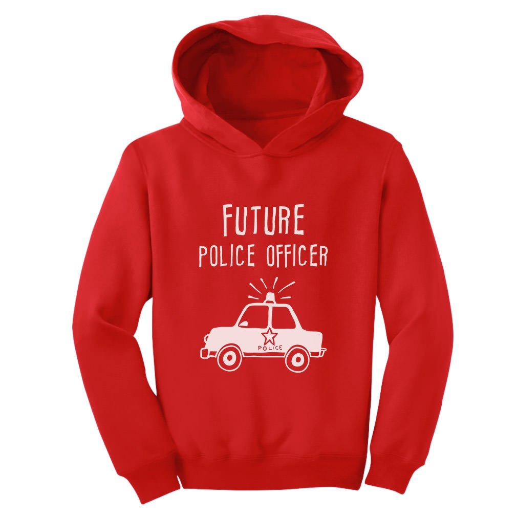 TeeStars - Future Police Officer - Gift for Policemen Kids Toddler Hoodie GM0a0hgvm