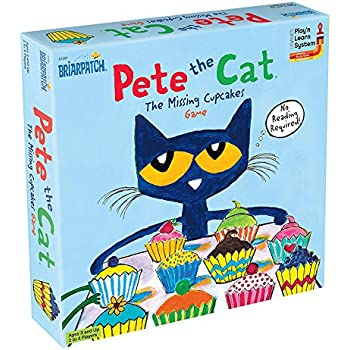 amazon com pete the cat the missing cupcakes game toys games