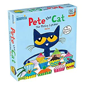 Amazon.com: Pete the Cat the Missing Cupcakes Game, Varios ...