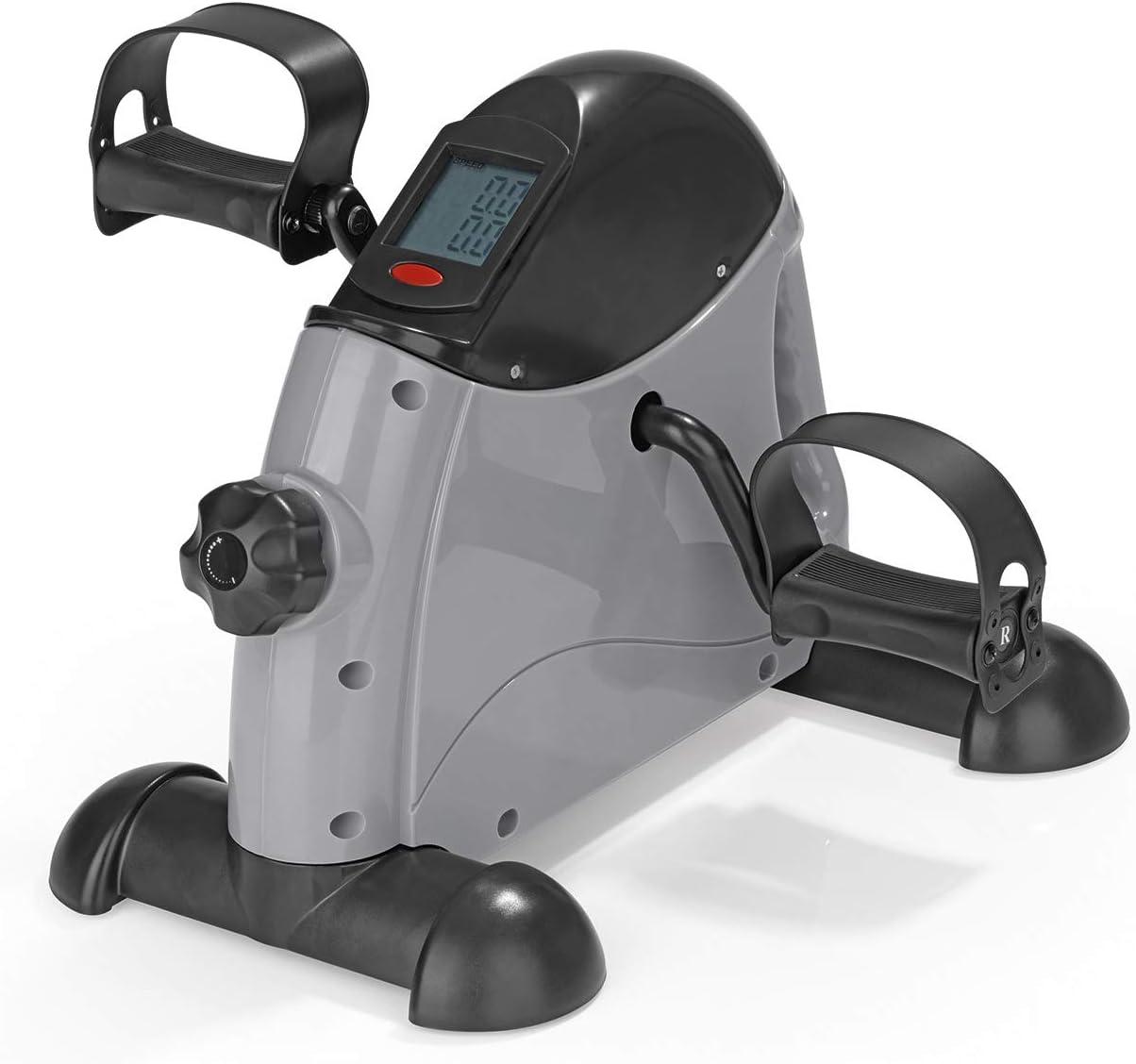 regulador de Resistencia Minientrenador con Ordenador de Entrenamiento para Llevar VITALmaxx Gris//Negro