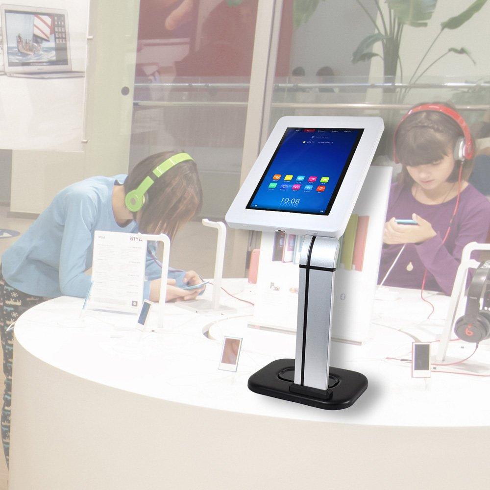 Pyle Anti-Robo para Zonas quioscos Expositor Mesa Universal Soporte para iPad//Tablet