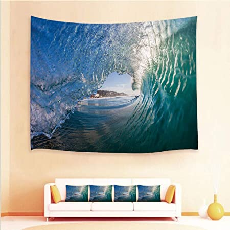 Carpet Carpets & Rugs New Arrival Summer Seaside Scenery Polyester Tapestry Wall Hanging Sofa Cover Beach Towels Blanket Bed Sheets Mattress Cover