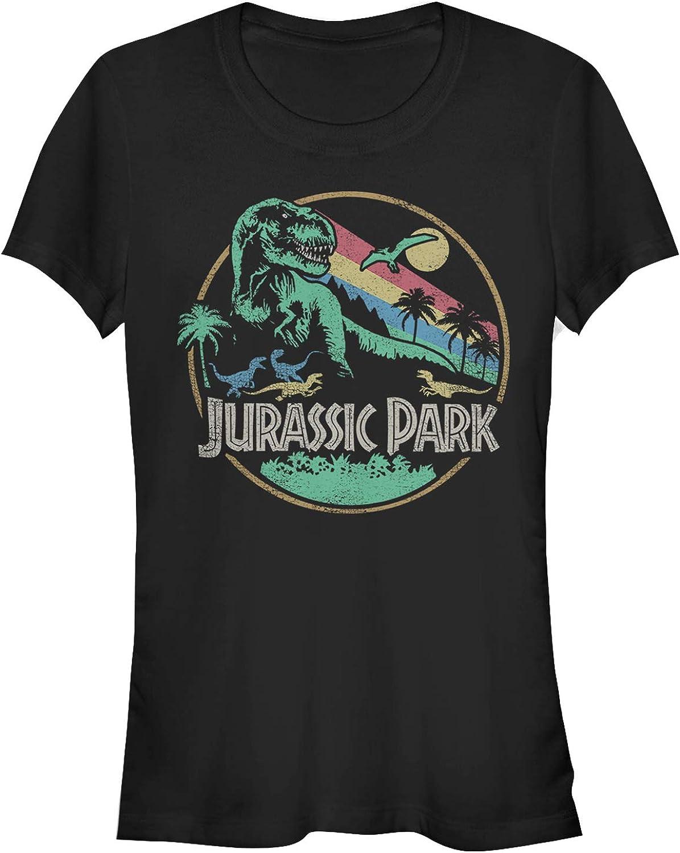 Jurassic Park Juniors Rainbow Emblem T-Shirt