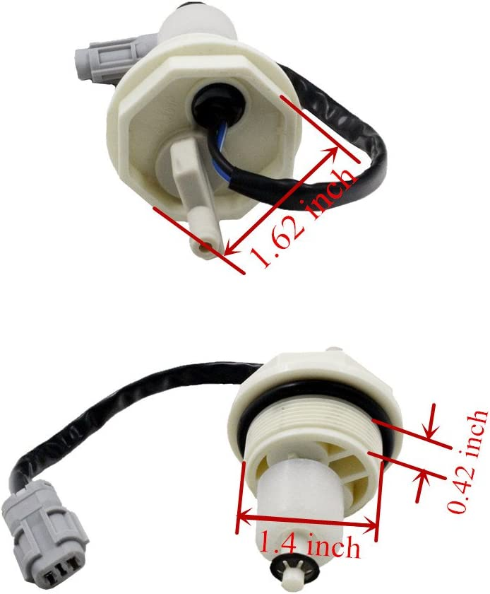 MonkeyJack Diesel Fuel Rail Plug Pressure Relief Valve for Dodge Cummins GM Duramax