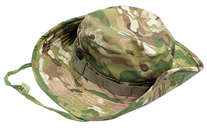 91892b45963 JITTY Camouflage Military Boonie Hat Wide Brim Summer Sun Hat Hunting Hat  Bucket Hat for Men