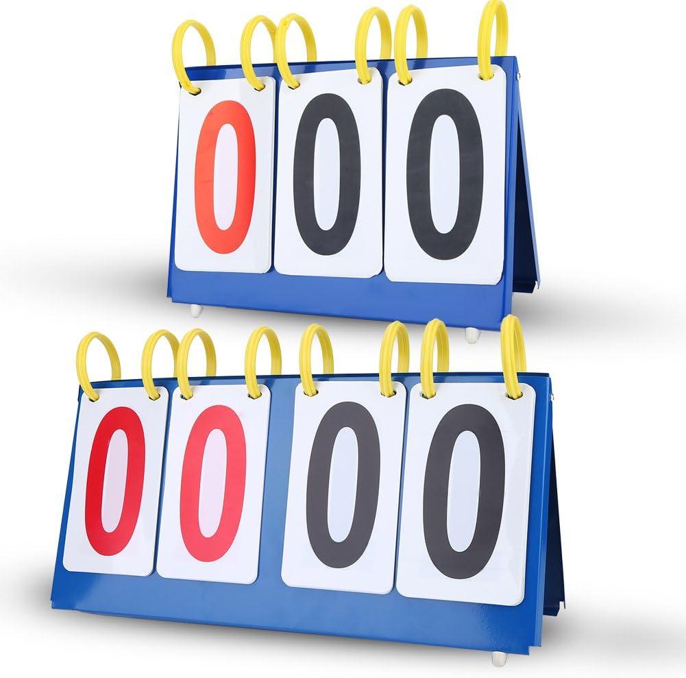 Marcador de Puntuación Marcador de Tabla Impermeable 3/4 Dígitos