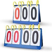 Scoreboard Anzeifetafel Wasserdichte 3/4 Ziffern für Fußball Volleyball Basketball