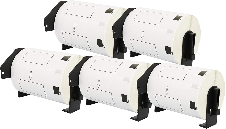 pour Brother P-Touch QL-1050 QL-1050N QL-1110NWB Etiqueteuses QL-1100 DK-11241 102 x 152 mm Compatible /Étiquettes dexp/édition 200 /Étiquettes par Rouleau QL-1060N