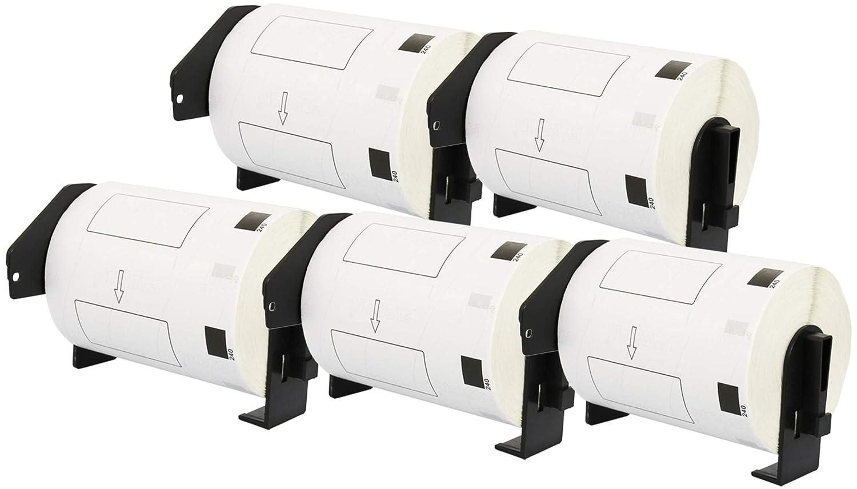 10x DK-11201 29 x 90 mm Adressetiketten (400 Stück Rolle) kompatibel für Brother P-Touch QL-1050 QL-1060N QL-1110NWB QL-1100 QL-500 QL-500BW QL-570 QL-580 QL-700 QL-710W QL-800 QL-810W QL-820NWB B07P4LD39M | Fein Verarbeitet