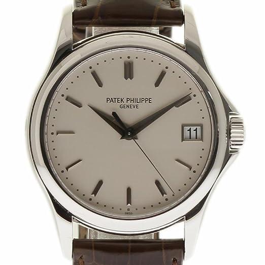 PATEK PHILIPPE CALATRAVA swiss-automatic Mens Reloj 5227 G-001 (Certificado) de segunda mano: Patek Philippe: Amazon.es: Relojes