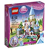 LEGO Disney Princess (646pcs) Cinderella's Romantic Castle Toy for Kids Figures Building Block Toys