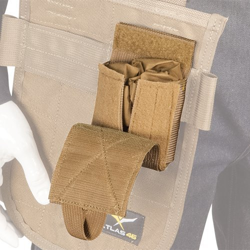 Atlas 46 AIMS Stowaway Utility Pouch Coyote | Work, Utility, Construction, and Contractor by Atlas 46 (Image #2)