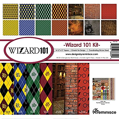 Reminisce WIZA-200 Wizard Collection Kit, 12 by 12, Multicolor 12 by 12