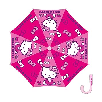 Paraguas automatico Hello Kitty 48cm surtido