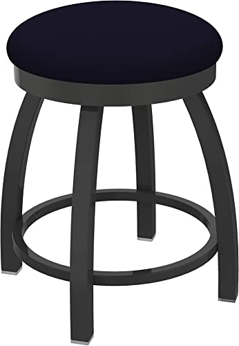 Holland Bar Stool Co. Misha Swivel Vanity Stool, 18 Seat Height, Canter Twilight