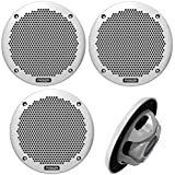 2 X Fusion MS-EL602 6 Inch Car Speaker (2 Pairs)