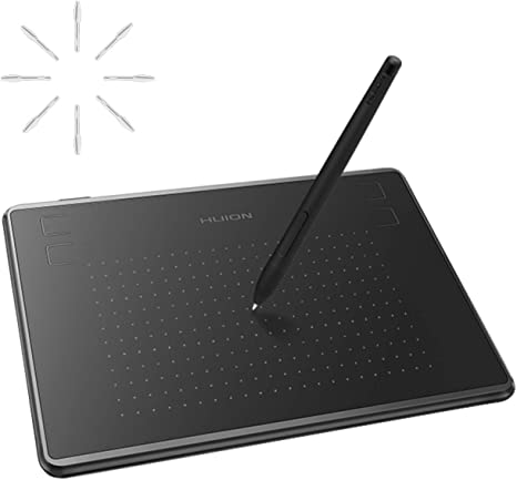 Huion H430P OSU Tablet Graphics Drawing Pen Tablet Battery-free 4096 Pen Levels