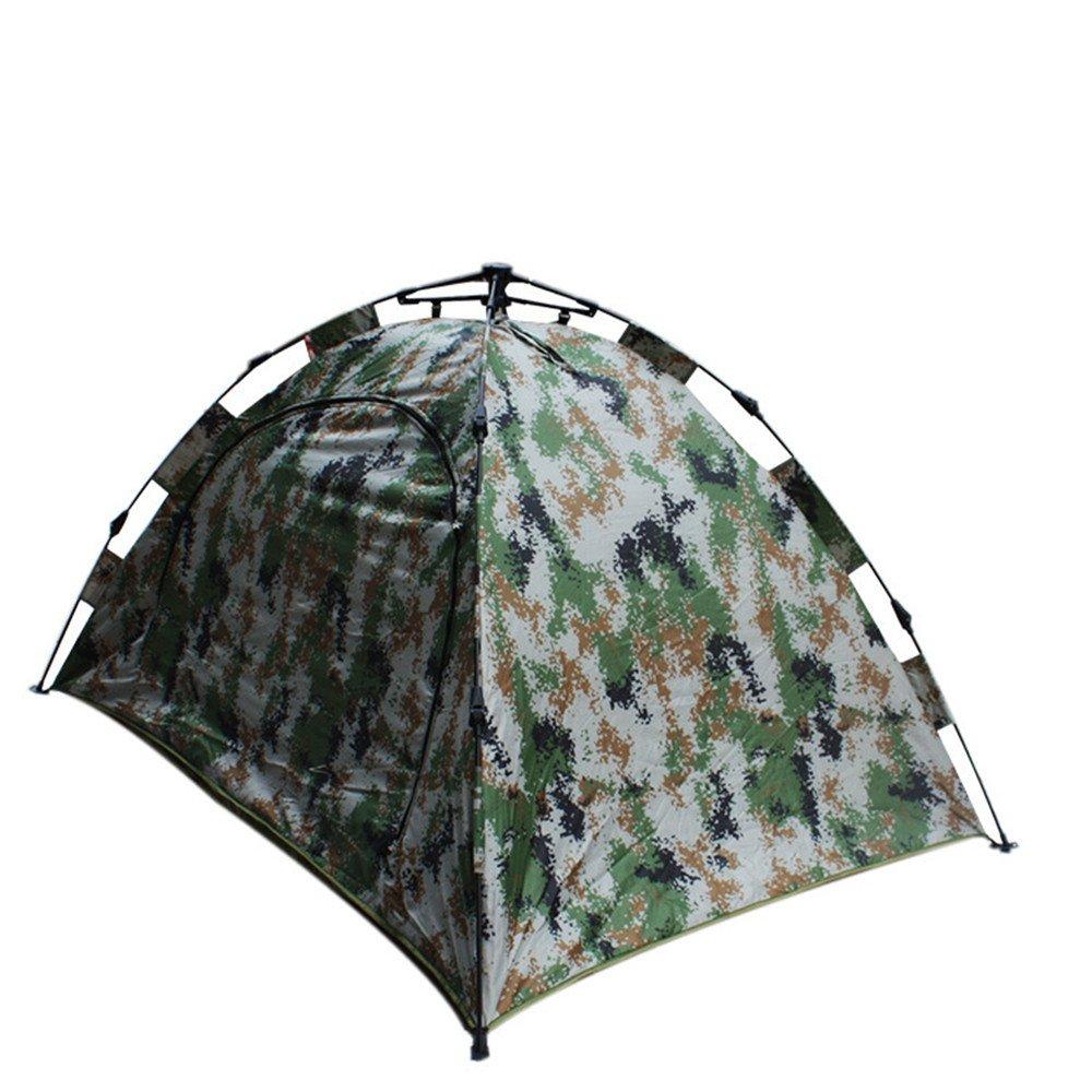 2-3人のキャンプテントは、肥厚し B07C1JV8TJ、暖かく保ちます4シーズンバックパッキングテント自動瞬間ポップアップテント屋外スポーツ付きカモフラージュ B07C1JV8TJ, イサハヤシ:01d9e737 --- ijpba.info