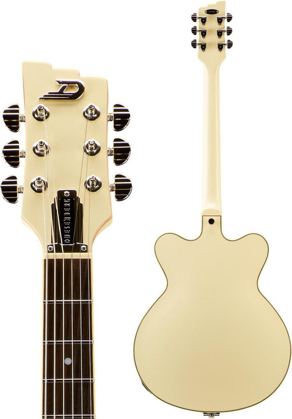 Duesenberg Estados Unidos Fullerton Semi-Hollow guitarra eléctrica - color blanco: Amazon.es: Instrumentos musicales