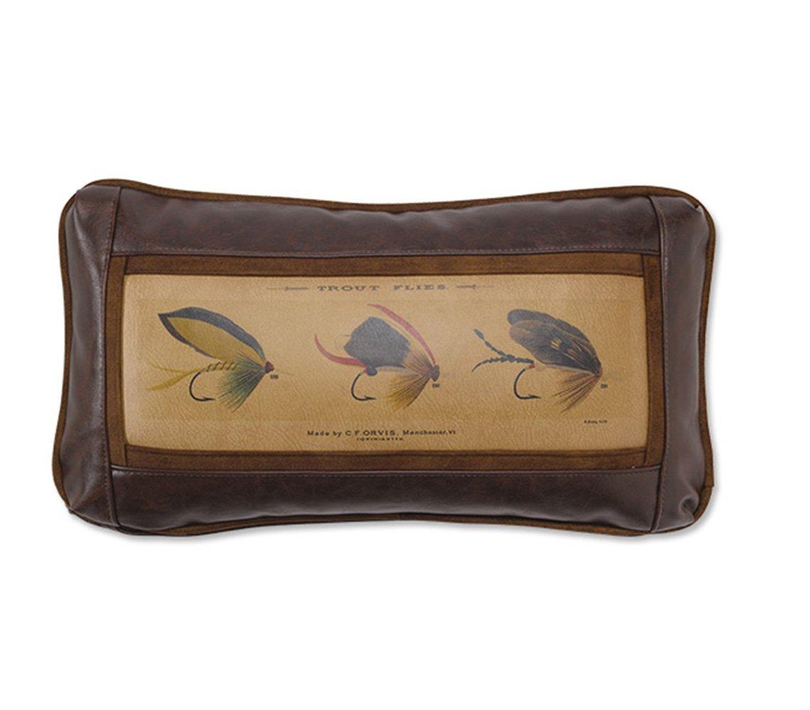 Orvis Marbury Vintage Flies Pillow, Lumbar by Orvis
