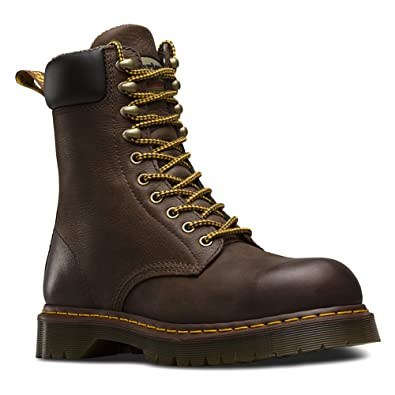 4162c579c59 Dr. Martens Men's Rufford EH ST 10 Tie Leather Work Boots
