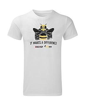 One More Rep Camiseta Crossfit Hombre Co-Branding beebad Color Blanca Talla M: Amazon.es: Deportes y aire libre