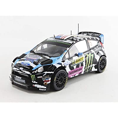 2014 Ford Fiesta RS WRC Rallye Catalunya 1:18 IXO Models 18RMC017: Juguetes y juegos