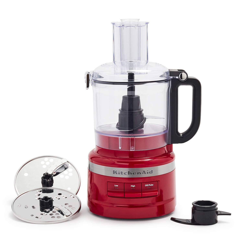 KitchenAid 7-Cup Food Processor Plus, Empire Red