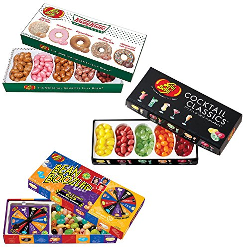 (Set) Jellybelly Beanboozled Wacky Game & Cocktail Classics & Krispy Kreme