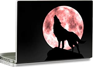 "Baocool 15 15.6 inch Laptop Notebook Skin Vinyl Sticker Cover Decal Fits 12"" 13.3"" 14"" 15.6"" 16"" HP Samsung Lenovo Apple Mac Dell Compaq Asus Acer Laptop Notebook PC (Cool Moon Wolf)"