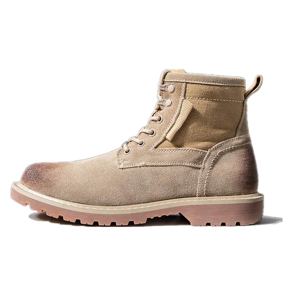 Super explosion Mens Fashion high-top Outdoor Training Tactical Boots wear-Resistant Breathable Work Boots