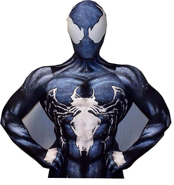 Amazon.com: ComicCosplay - Traje de cosplay Venom Spiderman ...