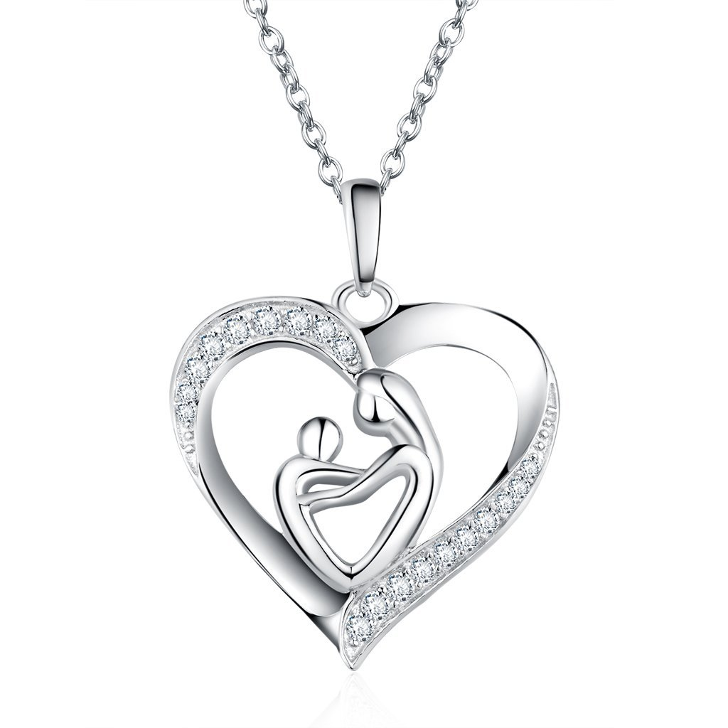 Jewelry & Watches Mexico Artisan Sterling Silver Handmade Heart Pendant Italy Sterling Chain Year-End Bargain Sale