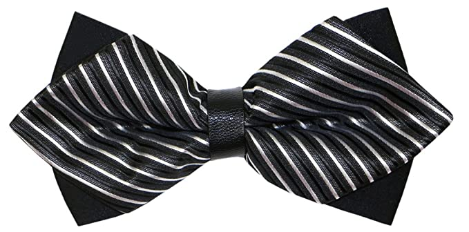Fliege Schleife Schlips Anzug Hemd Hochzeit Business Fasching Bunt Verstellbar Gebunden Herren Muster Einfarbig Krawatte