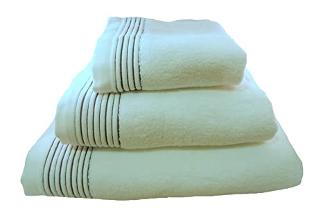 Home Juliet - Juego de 3 toallas para tocador, 33 x 50 cm, lavabo