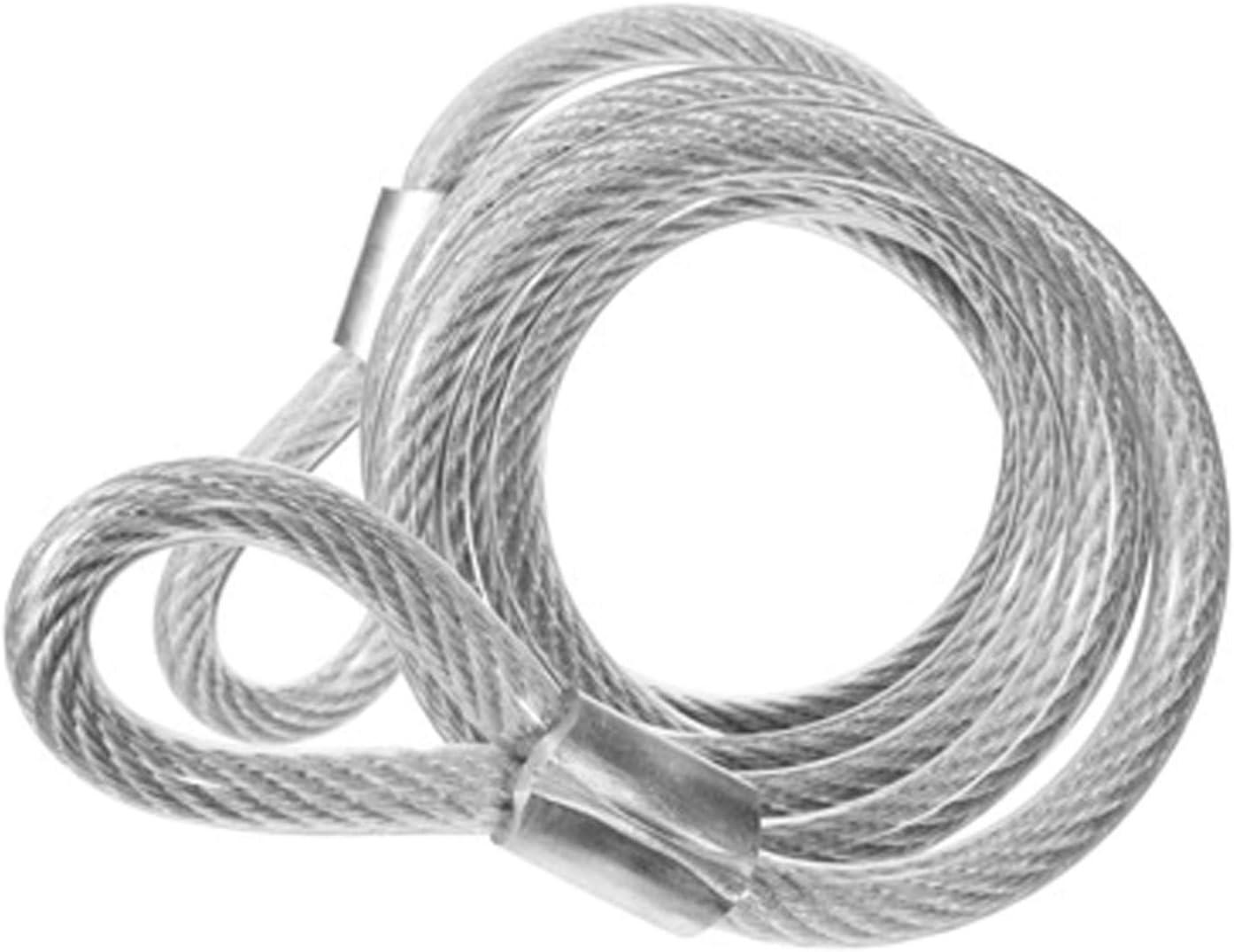 Diebstahlsicherung Festmacher Seilsicherung 5m 6m 9m Ösen Stahlseil Drahtseil M6