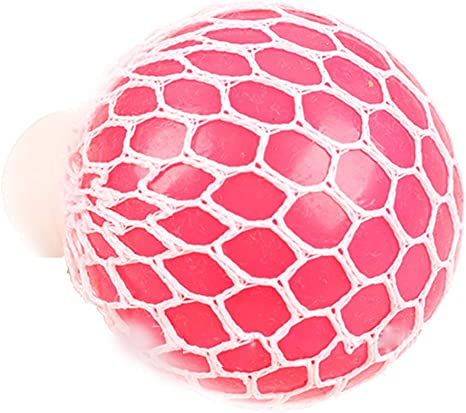 Pelotas de malla esponjosas para aliviar el estrés, juguetes ...