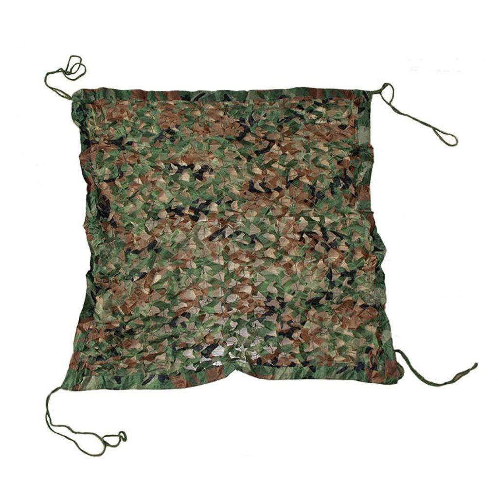 SJMWZW Tarnnetz Camouflage Tarnnetz Verwendet für Camping verstecken Jagd Tarnzelt Tarnung Sonnenschirm Fotografie Party Spiel Halloween Weihnachtsdekoration (größe   4  5m)