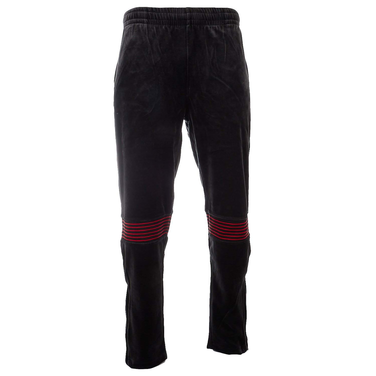 Fila PANTS メンズ B077DL5YMH M|Black/Chinese Red Black/Chinese Red M