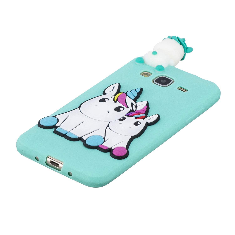 714124375bd HopMore Funda para Samsung Galaxy J3 2016 J310 Silicona Dibujo 3D  Divertidas Panda Animal Carcasa TPU ...