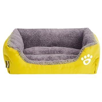 Cupcinu Cama de Perro Cama Gato Colchón de Perro Almohadilla para Mascotas Cama Perro Mediano Casa
