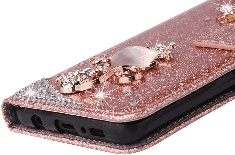 Flip Case for Huawei Mate20 Luxury Leather Wallet Cover with Viewing Stand and Card Slots Bussiness Phone Case with Free Waterproof-Case