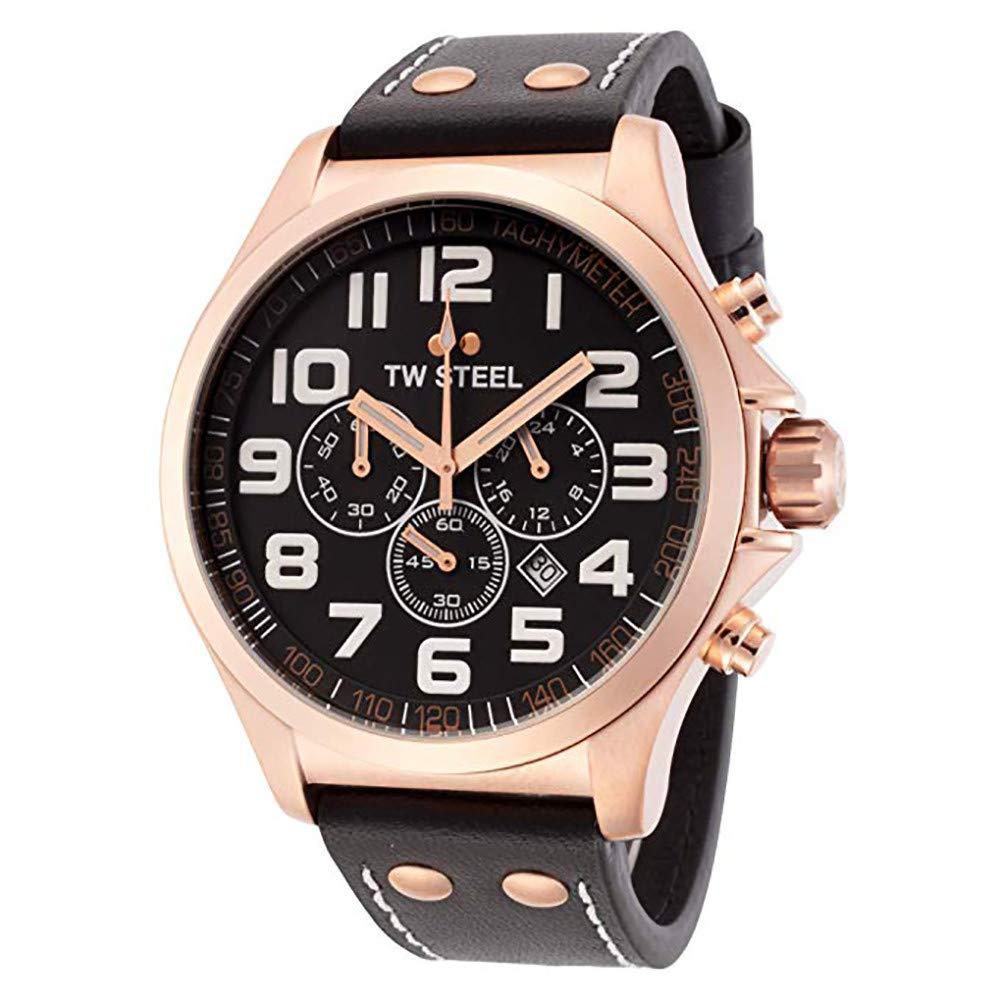 TW Steel Pilot Quartz Male Watch TW418 (Certified Pre-Owned) by TW Steel
