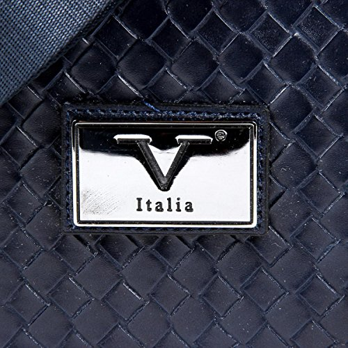 V 1969 Italia Mens Handbag Blue LEROY