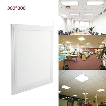 DBPOWER® Duenn 18W LED Panel Leuchte Deckenleuchten Lichtkuppel, 300 ...