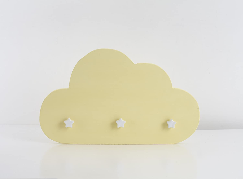 Nube Perchero Amarilla: Amazon.es: Handmade