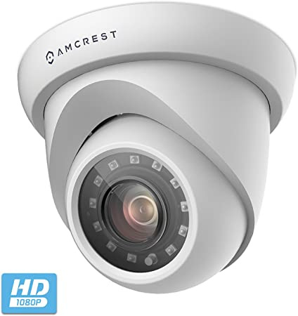 AMC2MDM28P-B 2-Pack Amcrest UltraHD 2MP Outdoor Camera Dome Quadbrid