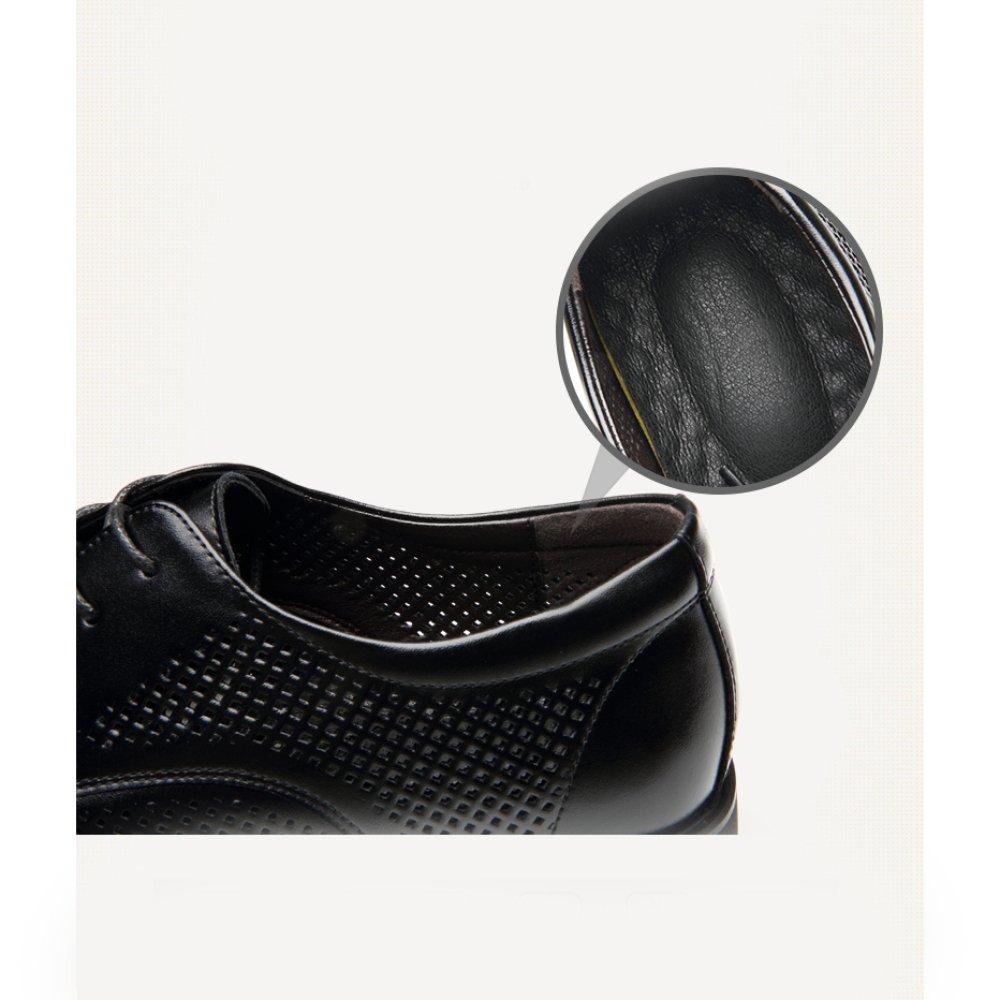 YXIAOL Sommer Neue Männer Sommer Business Casual Schuhe Atmungsaktive Kleid Schuhe Leder Hohl Atmungsaktive Schuhe Spitze Spitze Herrenschuhe BraunHollow 07b946