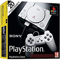 Sony PlayStation Classic (with 20 Pre-Loaded Games) Official by Sony 2018